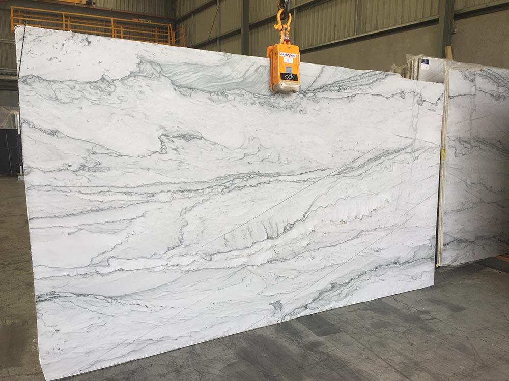 Infinity White Quartzite Cdk Stone